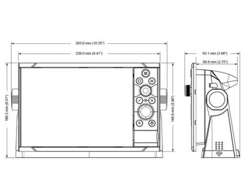 """B&G Ecran Multifonctions Zeus 3 7"""""""