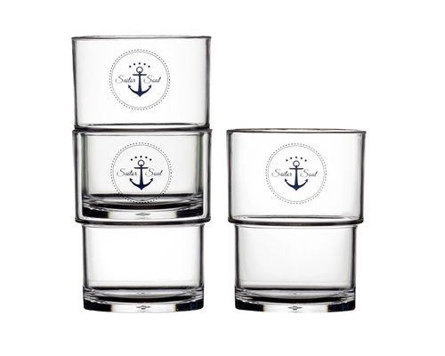MARINE BUSINESS Verres empilables SAILOR SOUL (x12)