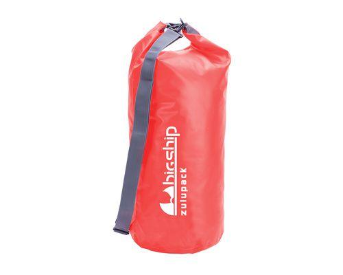 BIGSHIP Sac tube étanche rouge 25L