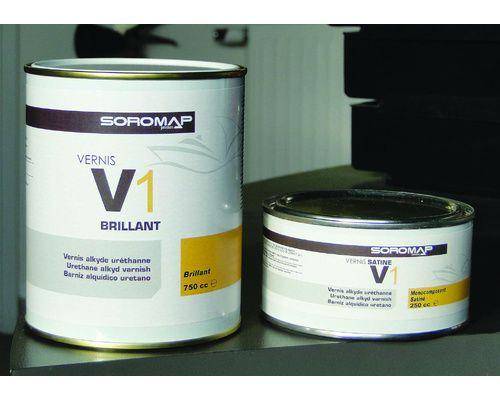 SOROMAP Vernis monocomposant V1 Satiné 750ml