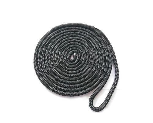 Bosse d'amarrage noir 10mm - 5m