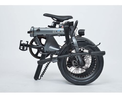 EOVOLT Vélo électrique City 4speed anthracite
