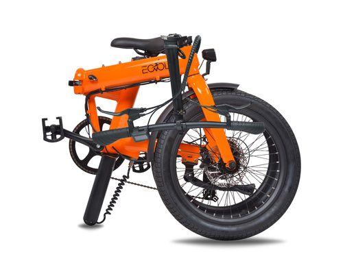 EOVOLT Vélo électrique Confort orange