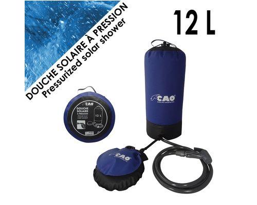 CAO Douche solaire à pression 12L