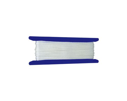LIROS Garcette blanche Ø3mm 50m