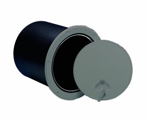 nuova rade trappe de visite grise 235mm avec coffre trappes bigship accastillage. Black Bedroom Furniture Sets. Home Design Ideas