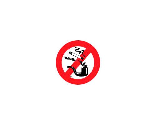 LALIZAS Disque adhésif interdit de fumer 135mm