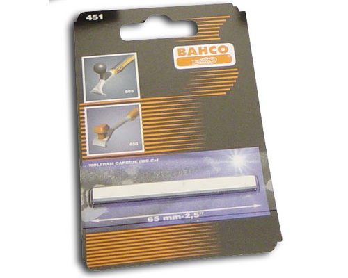 BAHCO Lame de rechange de 65 mm pour grattoirs sandvik 665 e