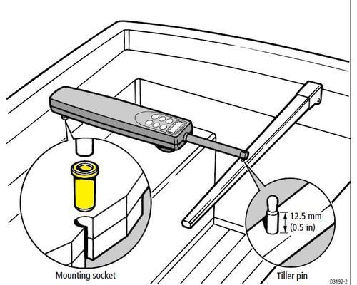 raymarine tolet de fixation accessoires pilote bigship accastillage accessoires pour bateaux. Black Bedroom Furniture Sets. Home Design Ideas