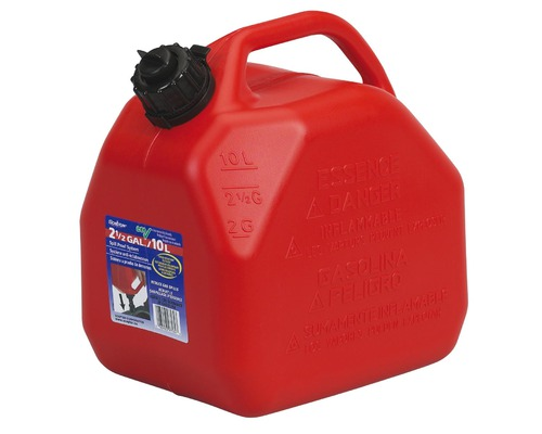 SCEPTER Jerrican carburant 10L anti-débordement