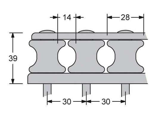 ANTAL Boite à réas V-CAM 6 réas Ø28mm