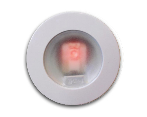 MANTAGUA Spot OUESSANT blanc à LED 5W rouge