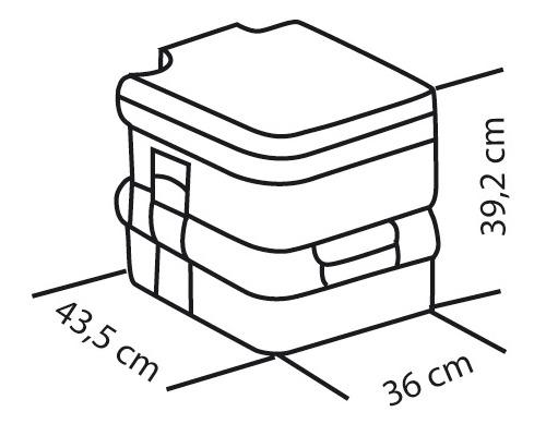 FIAMMA SOFT Bi-pot 39