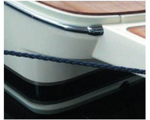 TESSILMARE Sphaera kit liston blanc | Base de 50 mm (12m)