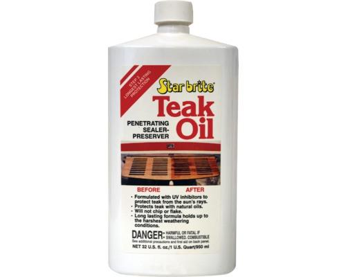 Star brite huile de teck 500ml entretien teck bigship - Huile de teck ...