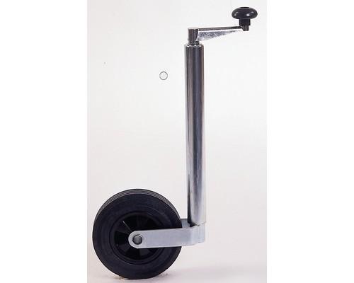 Roue jockey Compact 42mm - 100kg (jante métal)