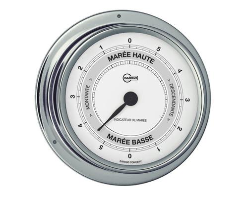 BARIGO Regatta indicateur marée 100 mm chromé
