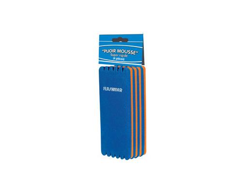 FLASHMER Plioir mousse bicolores 55x150mm les 4