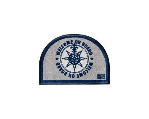 marine business tapis entr e rond bleu on board tapis bigship accastillage accessoires. Black Bedroom Furniture Sets. Home Design Ideas