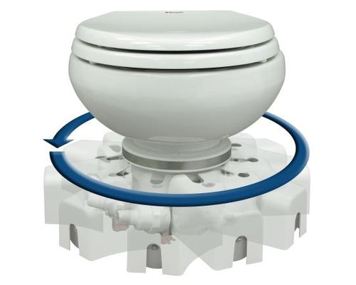 dometic wc broyeur masterflush 7120 12v eau douce wc. Black Bedroom Furniture Sets. Home Design Ideas
