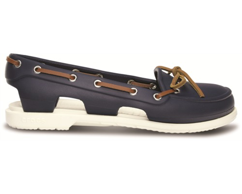 crocs bateau femme beach line boat navy 41 42 chaussures bigship accastillage. Black Bedroom Furniture Sets. Home Design Ideas