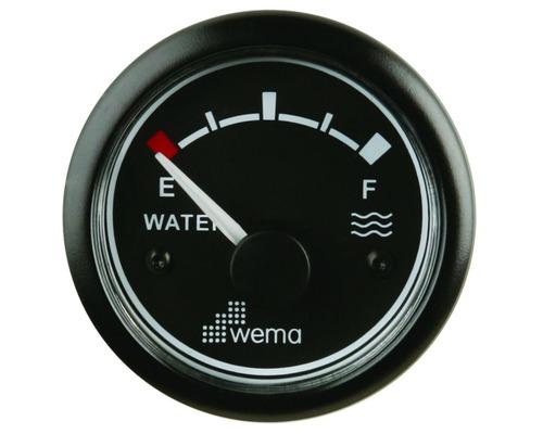 wema afficheur jauge eau gestion eau bigship accastillage accessoires pour bateaux. Black Bedroom Furniture Sets. Home Design Ideas
